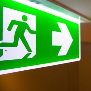 emergency lighting certificate