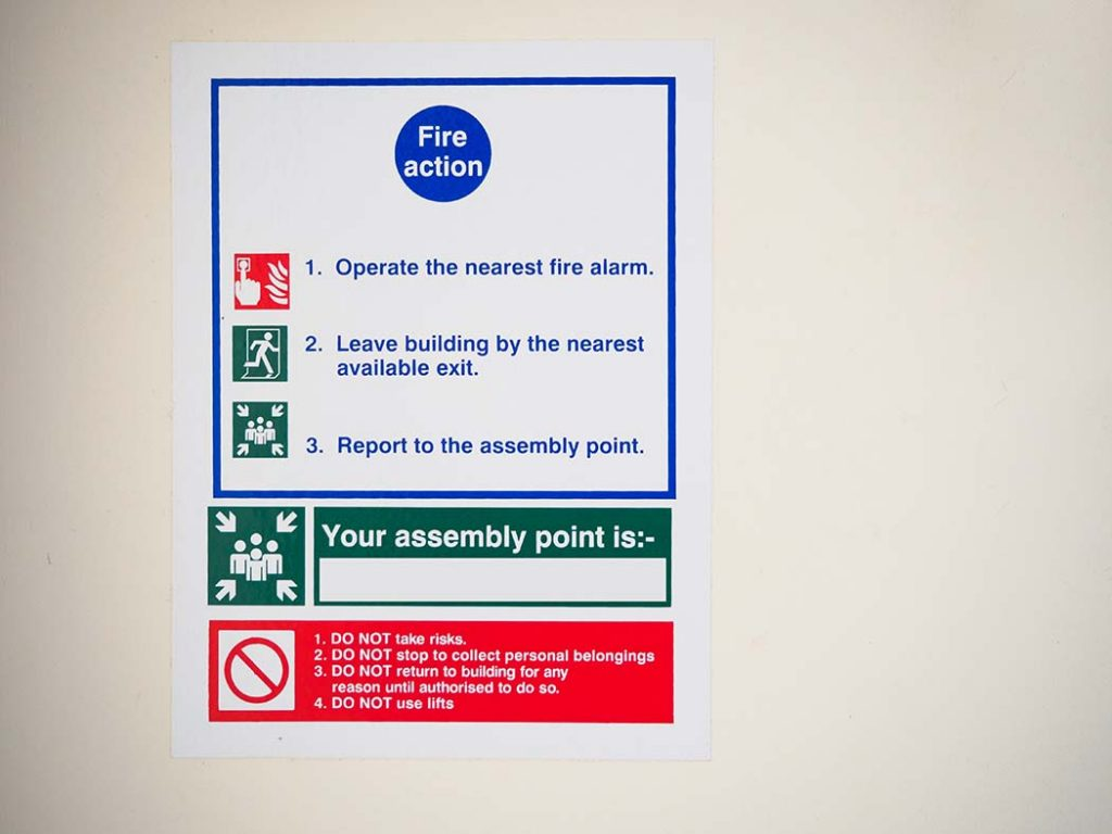landlord fire safety certificate